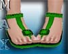 Beachy Sandals Green