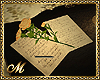 THE LETTER AND THE ROSE