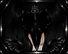 Satanic Cross Crow Skull