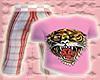 *CA* Pink Tiger Tee