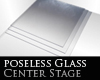 Ice Glass Corner Stage