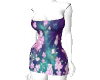 EA/ Pink Flower dress