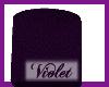 (V) Purple table