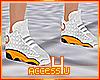 ! Orange Sneakers F