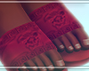 Red Versace Flip-Flops