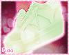 !F Green Sneackers