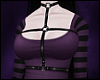 \/ Violet Harness Top