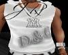 D&G White Vest