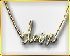 C|Claire Gold Necklace