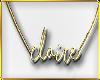 C|Claire Gold Necklace