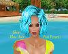 PP|Short Blue Hair