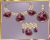 C12 Purple Jewelry Set