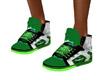 girls ninja green