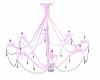 Chandelier Pink/Crystal