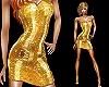 Golden sequins snakeskin