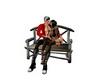 Anim romance bench