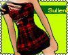 [E]::.. Red Tartan Dress