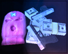 Cardi Mask/Gun/Money