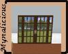 French Door with scene