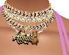 Amaia golden necklace