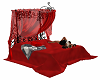 Red Goth Bed w Poses