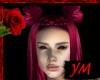 *Y* Pink Demoness Hair