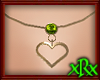 Heart Necklace August
