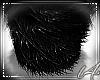 [L4] Fur Stool Black