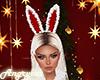 X-mas Fur Bunny Ears
