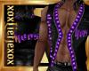 [L] HERS Purple Vest M