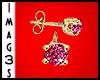 Diamond Studs Pink