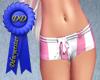 Pink stripe RLS shorts