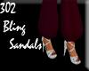 302 bling sandals
