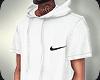 LH x White Nike Hoodie
