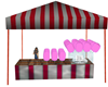 candy floss stall