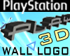 PLAYSTATION 3D Wall Logo