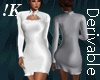 !K! Tight Ruffle Dress