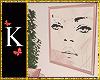 "K""Blush Wall Deco"