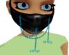 Teal DeadMau5 mask *R*