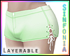 Layerable Green Shorts