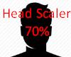 Head Scaler 70%