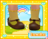 KID SHOES WITH SOCKS