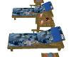 blue wolf pool chairs