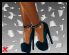 Dinah Heels/Slate Blue