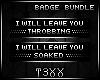 !TX - Leave You Bundle