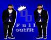 (DD) mens blue&blk full