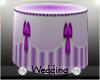 Wedding Lilac Cake Table