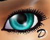 Unisex Blue Green Eyes