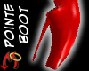 Pointe Boot - PVC-Red