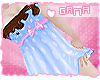 G; Edible dresses .Blue